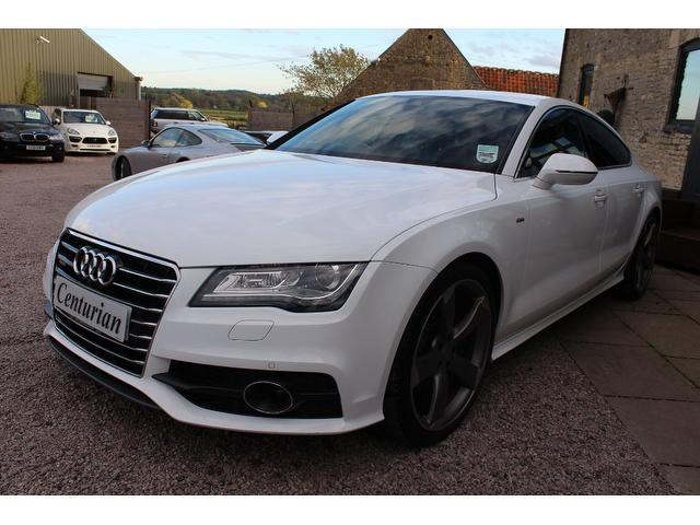 used audi a7 2012 automatic diesel 3 0 tdi quattro s white for sale uk autopazar. Black Bedroom Furniture Sets. Home Design Ideas