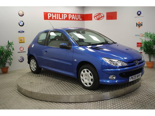 used peugeot 206 2009 blue paint diesel 1 4 hdi look 3dr hatchback for sale in oswestry uk. Black Bedroom Furniture Sets. Home Design Ideas