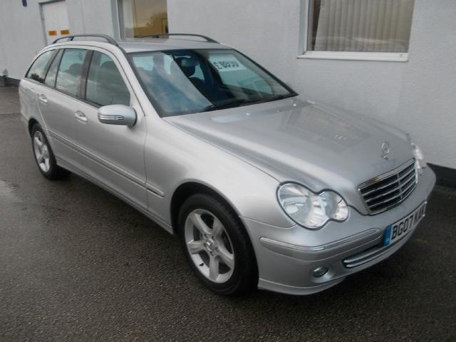 Used Mercedes Benz 2007 Silver Estate Petrol Automatic for Sale