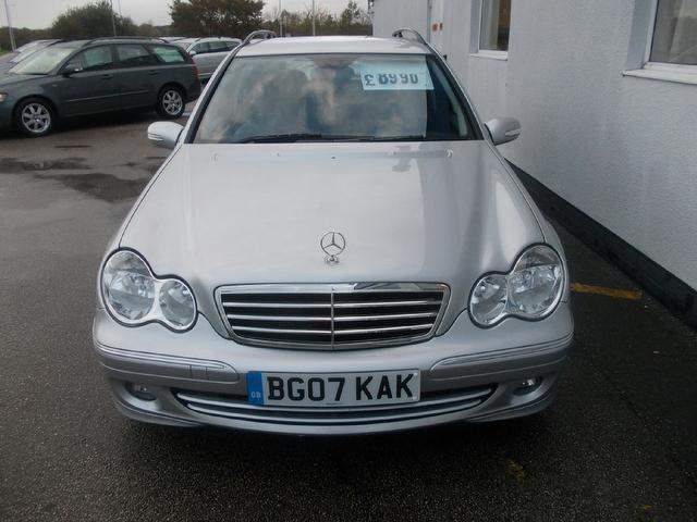 Used Mercedes Benz Class C180k Avantgarde Se Estate Silver 2007 Petrol for Sale in UK