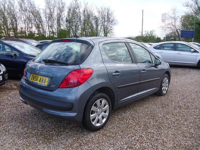 Used Peugeot 207 1.4 16v S 5 Door Hatchback Grey 2006 Petrol for Sale in UK