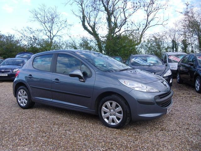 Used Peugeot 207 2006 Grey Hatchback Petrol Manual for Sale