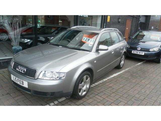 Used Audi A4 2002 Grey Estate Diesel Manual for Sale
