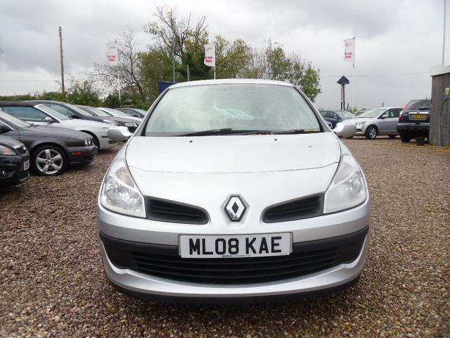 Used Renault Clio 1.2 16v Rip Curl Hatchback Silver 2008 Petrol for Sale in UK
