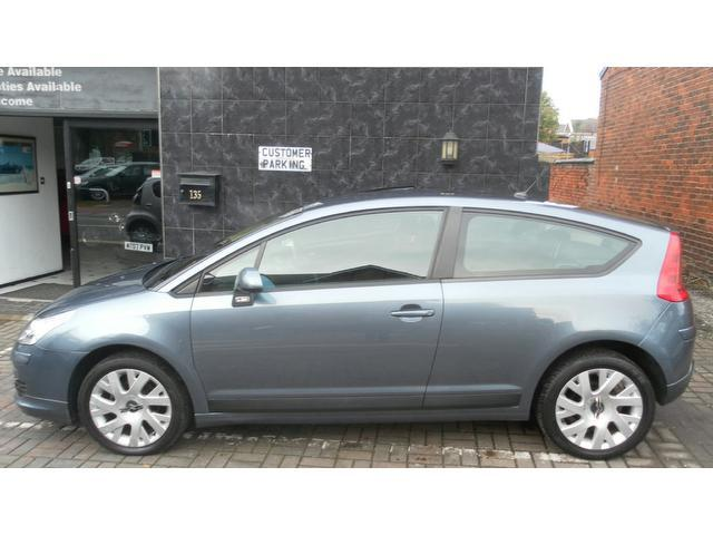 used grey citroen c4 2005 petrol 16v vtr plus coupe in great condition for sale autopazar. Black Bedroom Furniture Sets. Home Design Ideas