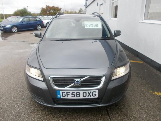 Used Volvo V50 1.6d Drive S 5 Door Estate Grey 2009 Diesel for Sale in UK