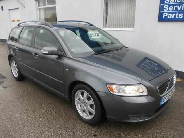 Used Volvo V50 2009 Grey Estate Diesel Manual for Sale