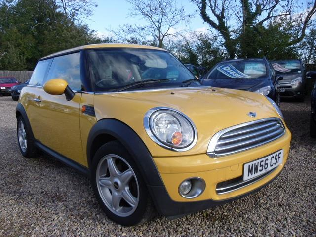 Used Mini Hatch 2006 Yellow Hatchback Petrol Manual for Sale