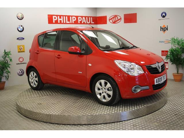 Used Vauxhall Agila 2009 Red Hatchback Petrol Manual for Sale