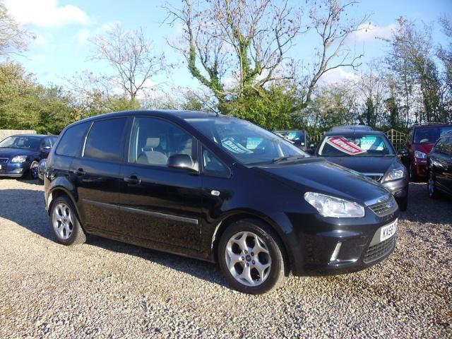 Used Ford C max 2008 Black Estate Petrol Automatic for Sale