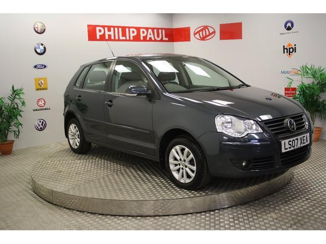 Used Volkswagen Polo 2007 Grey Hatchback Petrol Automatic for Sale
