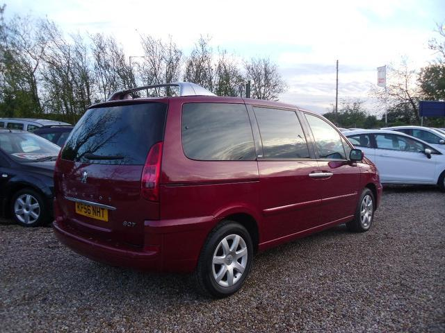 Used Peugeot 807 2.0 Hdi 136 Executive Estate Red 2006 Diesel for Sale in UK