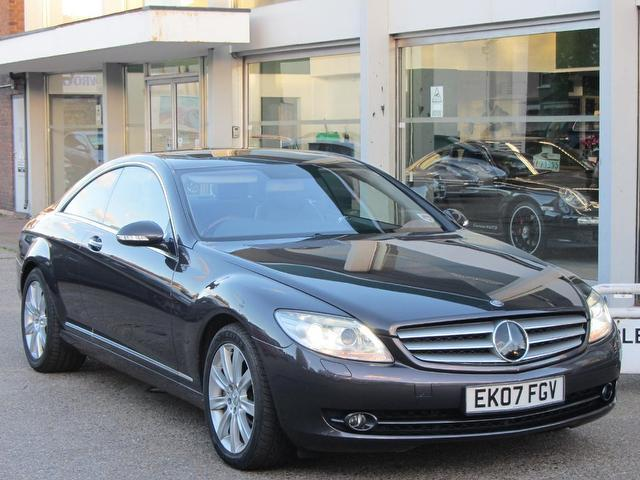 Used Mercedes Benz 2007 Grey Coupe Petrol Automatic for Sale