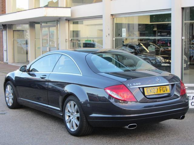 Used Mercedes Benz 500 2 Door Auto 5.5 Coupe Grey 2007 Petrol for Sale in UK