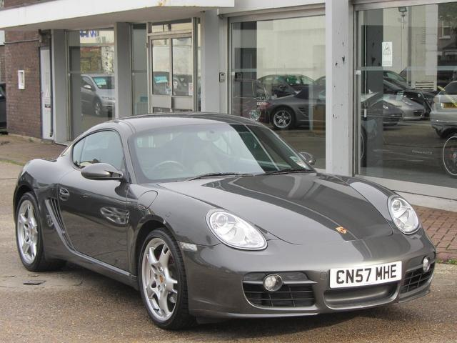 Used Porsche Cayman 2008 Grey Coupe Petrol Manual for Sale