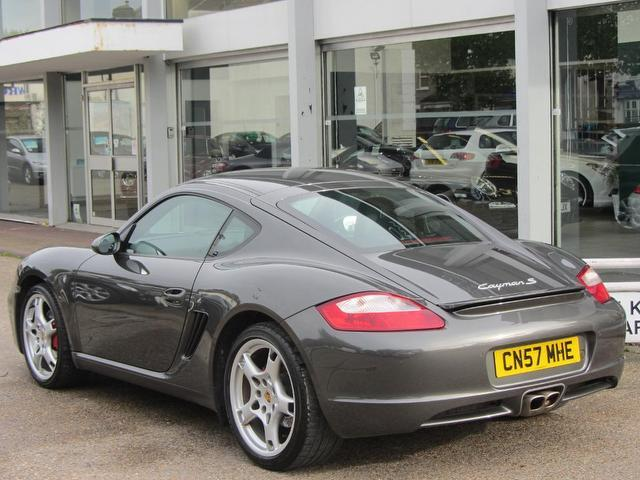 Used Porsche Cayman 3.4 S 2 Door Huge Coupe Grey 2008 Petrol for Sale in UK