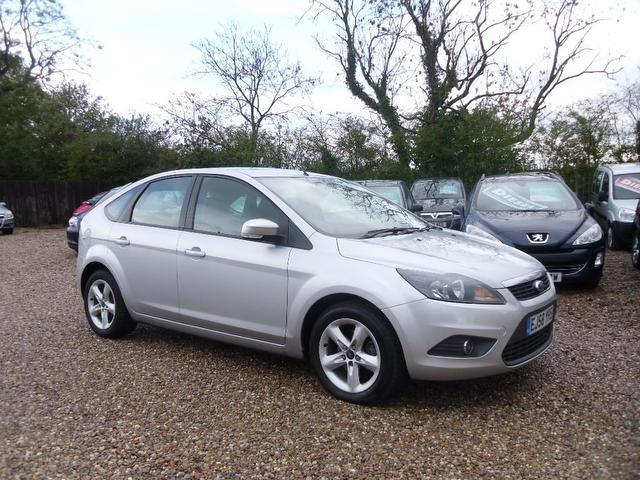 Used Ford Focus 2009 Silver Hatchback Petrol Manual for Sale