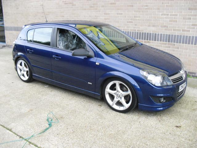 Used Vauxhall Astra 2008 Blue Hatchback Diesel Manual for Sale