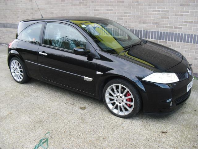 Used Renault Megane 2007 Black Hatchback Petrol Manual for Sale