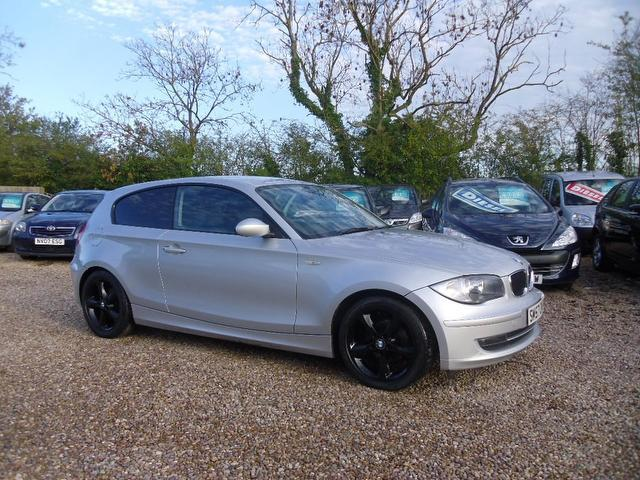 used 2007 bmw 1 series hatchback silver edition 116i es 3dr petrol for sale in nuneaton uk. Black Bedroom Furniture Sets. Home Design Ideas
