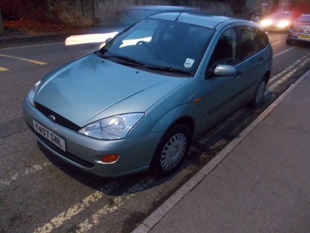 Used Ford Focus 2001 Green Hatchback Petrol Manual for Sale