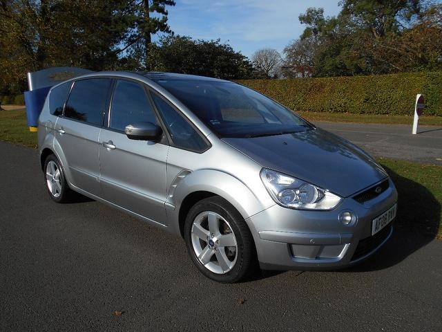 Used Ford S max 2008 Silver Estate Diesel Manual for Sale