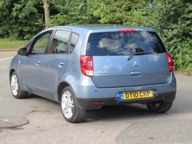 Used Mitsubishi Colt  Blue 2010 Unleaded for Sale in UK