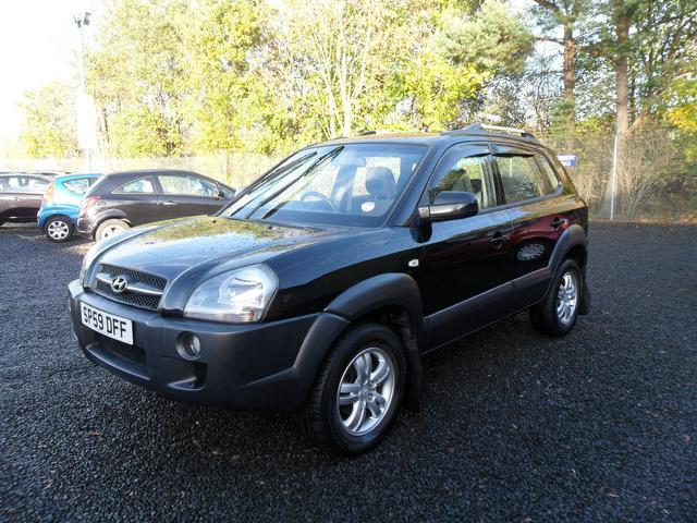 used hyundai tucson 2009 silver paint diesel 2 0 crdi style 5dr estate for sale in inveralmond. Black Bedroom Furniture Sets. Home Design Ideas