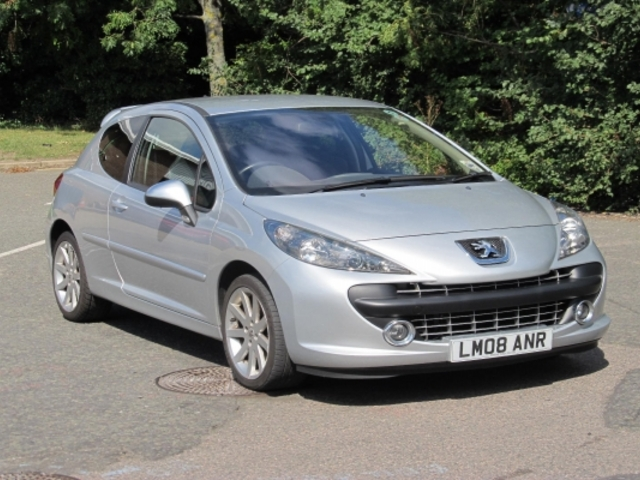 Used Peugeot 207 2008 Silver  Petrol Manual for Sale