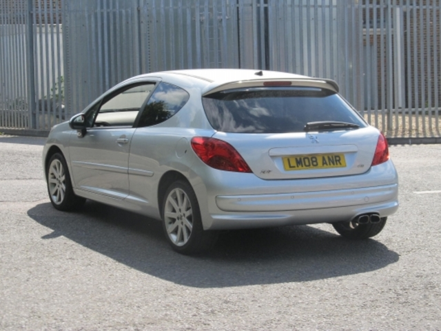 Used Peugeot 207  Silver 2008 Petrol for Sale in UK