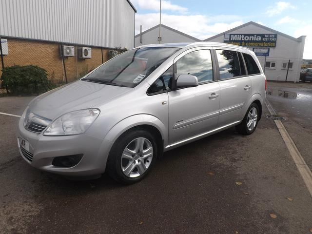 Used Vauxhall Zafira 2010 Silver Estate Diesel Manual for Sale