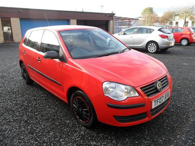 Used Volkswagen Polo 2007 Red Hatchback Petrol Manual for Sale
