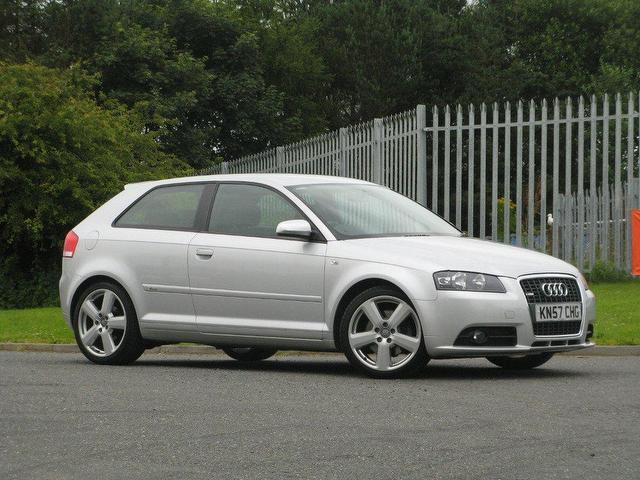 used audi a3 2007 diesel 2 0 tdi 170 s hatchback silver automatic for sale in turrif uk autopazar. Black Bedroom Furniture Sets. Home Design Ideas
