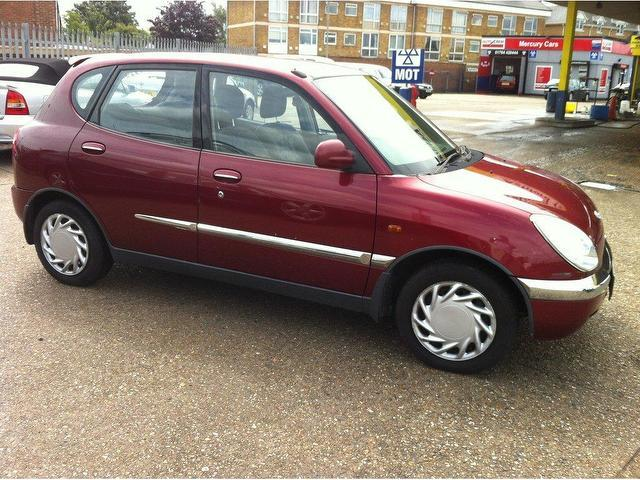 Used Daihatsu Cuore 2002 Petrol 1 0 + 5dr Hatchback Red Manual For