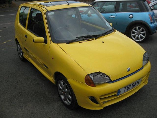 Used Fiat Seicento 2001 Petrol Sporting 3dr 1 1 Hatchback Yellow Manual For Sale In