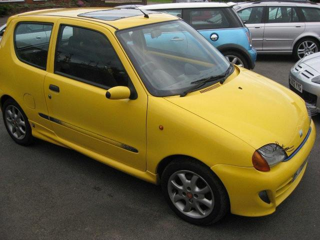 Used Fiat Seicento 2001 Petrol Sporting 3dr 1 1 Hatchback border=