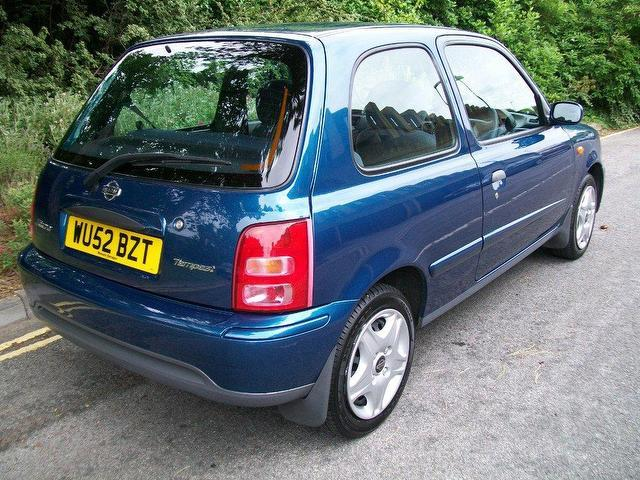 used nissan micra 2002 petrol 1 0 tempest 3dr hatchback. Black Bedroom Furniture Sets. Home Design Ideas