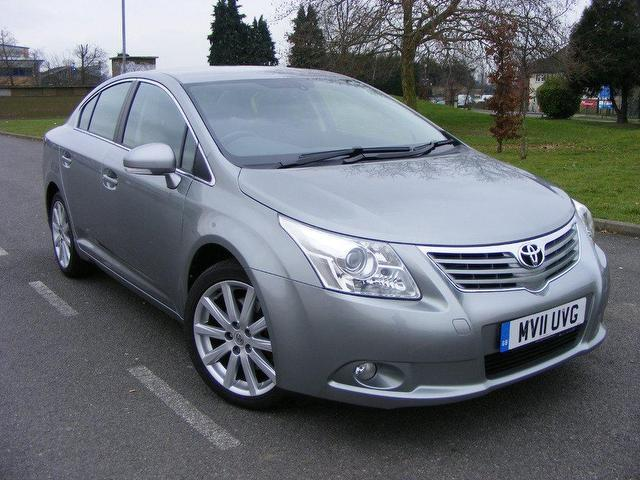 Used Toyota Avensis 2011 Grey Saloon Diesel Manual for Sale