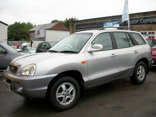used hyundai santa 2004 diesel fe 2 0 td 5dr 4x4 silver manual for. Black Bedroom Furniture Sets. Home Design Ideas