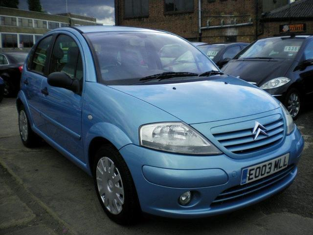 used citroen c3 2003 petrol sx 5dr auto hatchback blue automatic for sale in wembley uk. Black Bedroom Furniture Sets. Home Design Ideas