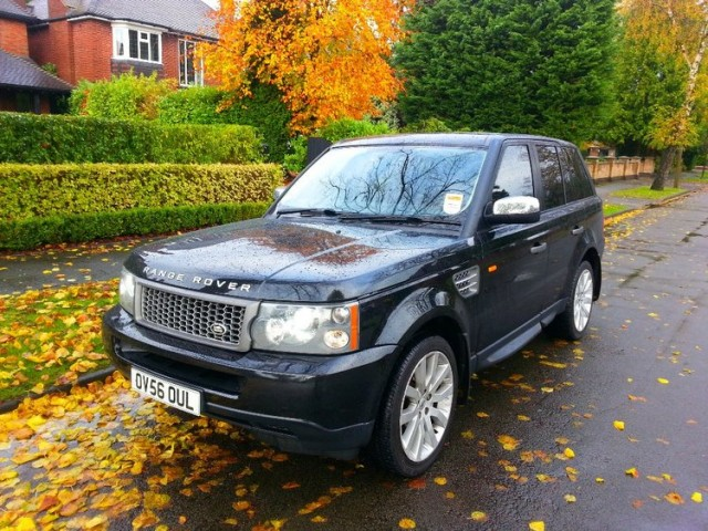 Used Landrover Range Rover Sport 2006 Black SUV Diesel Automatic for Sale