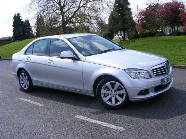 Used mercedes benz 2008 petrol class c180k se 4dr saloon for Used mercedes benz sale