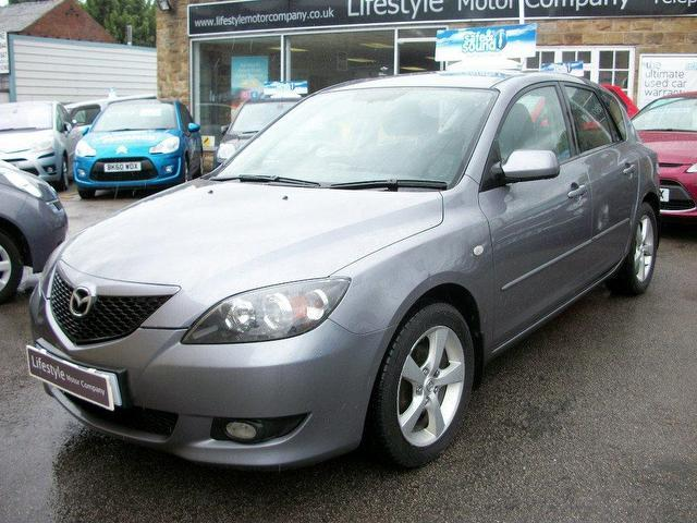 used mazda mazda3 2005 diesel ts2 5dr hatchback grey manual for sale in wakefield uk. Black Bedroom Furniture Sets. Home Design Ideas