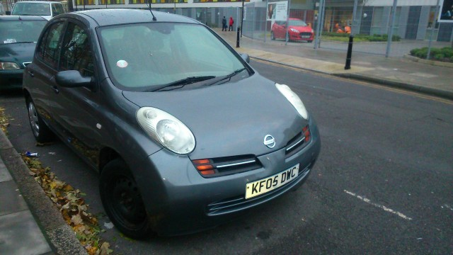 Used Nissan Micra 2005 Gray Hatchback Petrol Manual for Sale