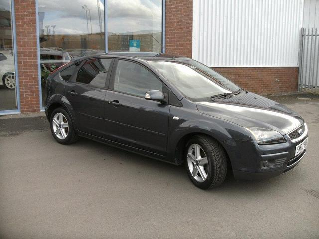 Used Ford Focus 2007 Petrol 1.6 Titanium 5dr [115] Hatchback Grey Manual For Sale In Oswestry Uk ...