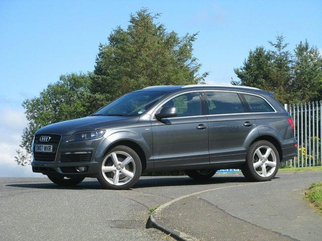 used audi q7 2007 diesel 3 0 tdi quattro s 4x4 silver automatic for sale in turrif uk autopazar. Black Bedroom Furniture Sets. Home Design Ideas
