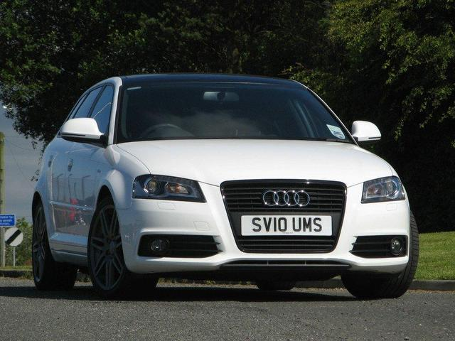 used audi a3 2010 diesel 2 0 tdi black edition hatchback white manual for sale in turrif uk. Black Bedroom Furniture Sets. Home Design Ideas