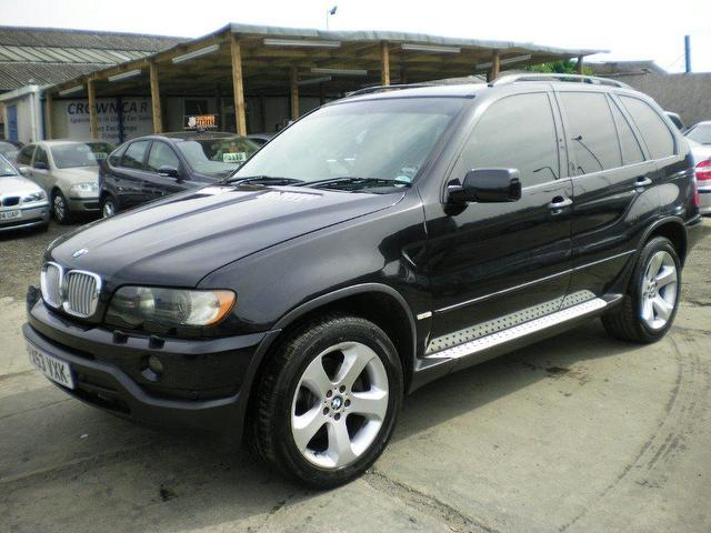 used bmw x5 2003 diesel sport 5dr auto 4x4 black automatic for sale in wembley uk autopazar. Black Bedroom Furniture Sets. Home Design Ideas