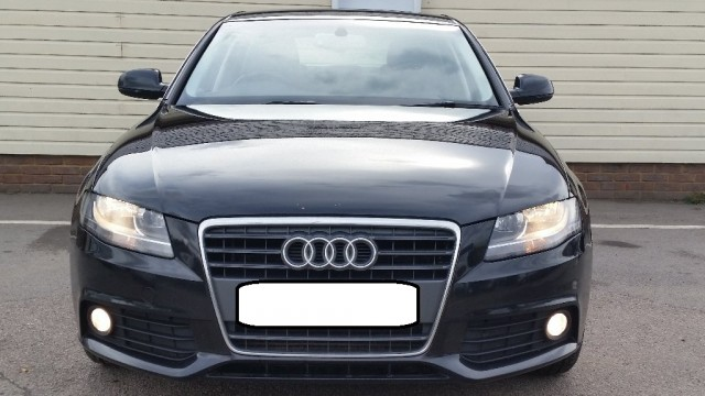 Used Audi A4 2010 Black Saloon Diesel Manual for Sale