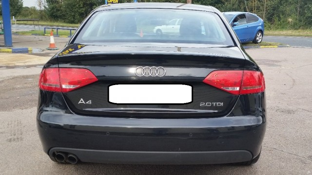 Used Audi A4  Saloon Black 2010 Diesel for Sale in UK